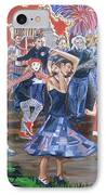 The Music Never Stopped IPhone Case by Bryan Bustard