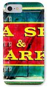 The North Arkansas Line IPhone Case by Benjamin Yeager