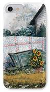 The Old Quilt IPhone Case by Michael Humphries