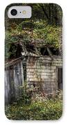 The Old Shack In The Woods - Autumn At Long Pond Ironworks State Park IPhone Case by Gary Heller
