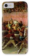 The Riderless Racers At Rome IPhone Case by Theodore Gericault