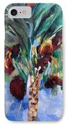 The Righteous Will Flourish Like The Date Palm Tree IPhone Case by David Baruch Wolk