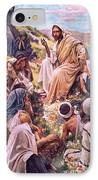 The Sermon On The Mount IPhone Case by Harold Copping