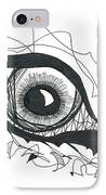 The Sorcerer's Divine Dance Of Infinite Divine Light IPhone Case by Daina White