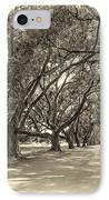 The Southern Way Sepia IPhone Case by Steve Harrington