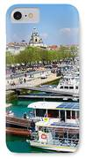 The Town And Port Of La Rochelle IPhone Case by Nila Newsom