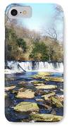 The Wissahickon Creek In February IPhone Case by Bill Cannon