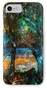 Three Sisters IPhone Case by Patricia Allingham Carlson