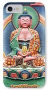 Tibetan Buddhist Deity Sculpture IPhone Case by Tim Gainey