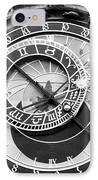 Time In Prague IPhone Case by John Rizzuto