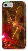 Tinker Bell Christmas Tree Landing IPhone Case by James BO  Insogna