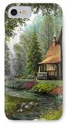 Toadstool Cottage IPhone Case by Dominic Davison