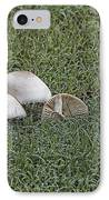 Toadstools V5 IPhone Case by Douglas Barnard