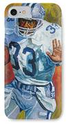 Tony Dorsett - Dallas Cowboys  IPhone Case by Mike Rabe