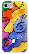 Tradewinds IPhone Case by Diane Thornton