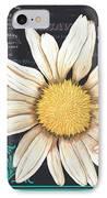 Tranquil Daisy 2 IPhone Case by Debbie DeWitt
