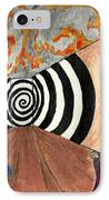 Transition IPhone Case by Angela Pelfrey