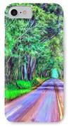Tree Tunnel Kauai IPhone Case by Dominic Piperata