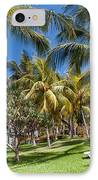 Tropical Beach I. Mauritius IPhone Case by Jenny Rainbow