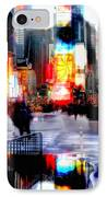 Tsquare Water Colors IPhone Case by Diana Angstadt