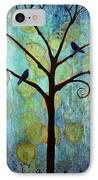 Twilight Tree Of Life IPhone Case by Blenda Studio
