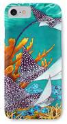 Under The Bahamian Sea IPhone Case by Daniel Jean-Baptiste