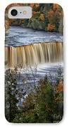 Upper Tahquamenon Falls  IPhone Case by Todd Bielby