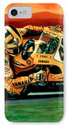 Valentino Rossi The Doctor IPhone Case by Paul Meijering