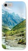 Valley Of River Ganga In Himalyas Mountain IPhone Case by Raimond Klavins