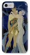 Venus And Adonis  IPhone Case by Georges Barbier