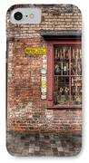 Victorian Corner Shop IPhone Case by Adrian Evans