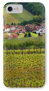 View Of Rodern From The Vineyards Of Alsace IPhone Case by Greg Matchick