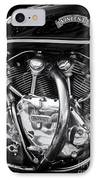 Vincent Engine IPhone Case by Tim Gainey