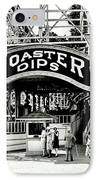 Vintage Coaster IPhone Case by Benjamin Yeager