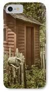 Vintage Garden IPhone Case by Margie Hurwich