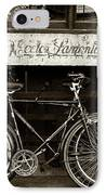 Vintage Montreal Bikes IPhone Case by John Rizzuto