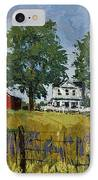 Virginia Highlands Farm IPhone Case by Peter Muzyka