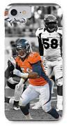 Von Miller Broncos IPhone Case by Joe Hamilton