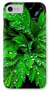 Water Drops IPhone Case by Robert Bales