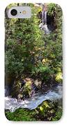 Water In The Forest IPhone Case by Susan Leggett
