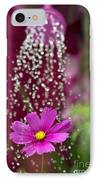 Watering The Cosmos IPhone Case by Tim Gainey