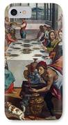 Wedding At Cana IPhone Case by Andrea Boscoli