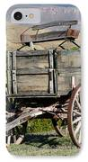 Western Wagon IPhone Case by Sabrina L Ryan