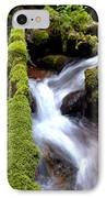 Wet And Green IPhone Case by Steven Milner