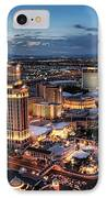 When Vegas Comes To Life IPhone Case by Eddie Yerkish