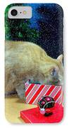 Whiskey's Present IPhone Case by Diana Angstadt