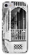 White Porch IPhone Case by John Rizzuto