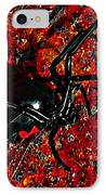 Wicked Widow - Rouge IPhone Case by Al Powell Photography USA