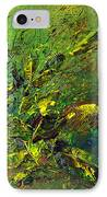 Wild Green IPhone Case by Thierry Vobmann