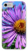 Wild Purple Aster IPhone Case by Christina Rollo